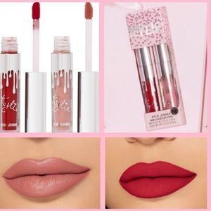 NWT Kylie Cosmetics Mini Ornament Lipstick Duo